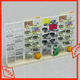 Le système au détail d'approvisionnements de magasin de chaussures chausse le présentoir