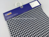 綿の糸はジャカード小切手ファブリックLz8612を染めた