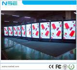 3G que anuncia o movimento P4 interno video da tela de indicador do diodo emissor de luz com indicador de diodo emissor de luz da forma do telefone da roda