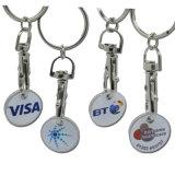 De Symbolische Muntstukken Keychain van het Karretje van de douane met Eigen Embleem