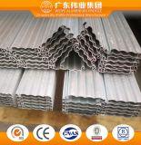 Profil d'alliage en aluminium pour porte de l'obturateur de roulement