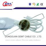 Lampen-Netzanschlusskabel-AN/AUS-Dimmer-Schalter des Europa-Standardsalz-E14