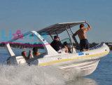 Liya 6.6m Fiberglas-Fischerboot-steifer Rumpf-aufblasbares Boot