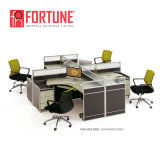 Hochwertiger industrieller Büro-Arbeitsplatz für 6 Personen (FOH-SS18-2814-A)