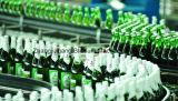 Volledige Automatische het Vullen van het Bier van de Fles van het Glas Verpakkende Machine