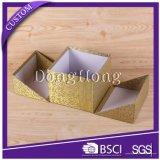Contenitore di regalo di lusso della torretta del documento di scintillio per l'imballaggio del cioccolato