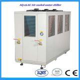 중국 제조자 R407c 공기에 의하여 냉각되는 일폭 물 냉각장치 냉각 기계