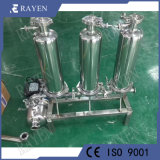 Filtro de membrana de polipropileno de filtro de precisión de la caja del filtro de acero inoxidable