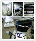 Hydrogeologic問題のための水文学の調査の試錐孔のカメラの使用