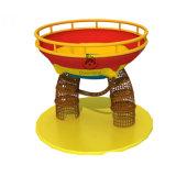 Handelsgymnastik-Geräten-Innenkindergarten-Regenbogen-kletternder Nettohindernis-Kurs für Kinder