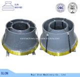 Het Staal Concave Sandvik CS440 van het mangaan en de Delen van de Maalmachine van de Kegel van de Mantel