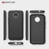 Telefon-Deckel des Kohlenstoff-Faser-Kasten-TPU für Motorola Moto G5 G5s plus