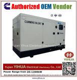 generador diesel silencioso de 240kw/300kVA 50Hz accionado por Cummins Engine-20171017g