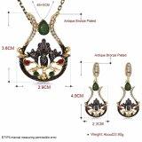 Серьги и ожерелье женщин ювелирных изделий конструкции способа Hotsale установленные