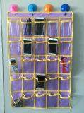 غير يحاك حقيبة 25 شبكة تخزين حقيبة منخم جدار باب مقصورة يعلّب تخزين حقيبة