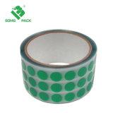 Fita de camuflagem Hi-Temp verde fita adesiva de poliéster para Revestimento a pó