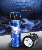 Indicatori luminosi di campeggio ricaricabili solari della lanterna del LED