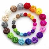 Bola de Rattan Multicolor Fiesta de Cumpleaños Fiesta de Bodas Decoracion suministros