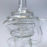 OEM/ODM Wholesale Ölplattform-Recycler-Glaswasser-Rohr für das Rauchen