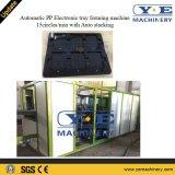 Bandeja eletrônica automática máquina de termoformagem com empilhamento para o Mobile