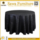 Round Table Sequin Chiffon de mariage