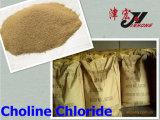 Polvo del cloruro el 50% el 60% de la colina de la salud de los animales de la fuente