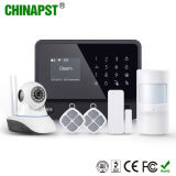 El más nuevo sistema de alarma de WiFi G/M del soporte de la cámara del IP (PST-G90B más)