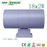 Sola pista del IP 65 o certificación principal doble del Ce de la luz 3W-36W de la pared