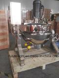 Todo el mezclador vestido de la caldera de la calefacción de vapor del acero inoxidable con el mezclador