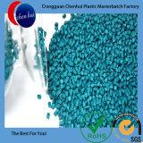 Зерно Materbatch зеленого цвета девственницы HDPE/LDPE пластичное