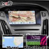 Cadre de navigation de l'androïde 4.4 5.1 GPS pour la tige Waze de miroir de surface adjacente de vidéo de synchro 3 de Ford Focus