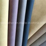 Neue Produkt-Barkestrukturiertes Faux PU-Leder für Sofa-Gewebe
