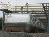 De uitstekende Tank van de Opslag van het Roestvrij staal Horizontale