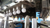 Macchina di modellatura del colpo verticale della sfera del coperchio della lampadina del LED