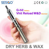 La ricarica originale W&D di Seego Vhit asciuga la sigaretta del vaporizzatore E dell'erba con l'alloggiamento