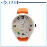 De beste Verkopende OEM van de Druk van de Manier Horloges van de Sport van het Silicone van het Embleem