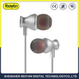 Ficha de 3,5 mm em auscultadores auriculares com fios de TPE para telemóvel