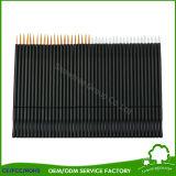 Spazzola nera a gettare di trucco della spazzola del Eyeliner della fibra