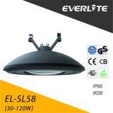 Everlite 대중적인 품목에 의하여 통합되는 Die-Casting 알루미늄 주거 100W LED 포스트 상단 정착물