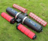 """温室水セービング装置4の""""滴り潅漑フィルターシステム"""