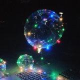 대중적인 쇼 사랑 LED 가벼운 Bobo 공 LED 풍선 램프 훈장 빛 풍선