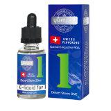 Excelente combinación orgánica Eliquid de 30ml el frasco de cristal de alta Vg Ejuice Vape cigarrillo E