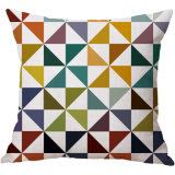 Federa domestica creativa del cotone di colore di stampa del coperchio di tela geometrico dell'ammortizzatore