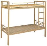 Base de cucheta popular del marco del metal de la escuela con el escritorio para el estudiante de los adultos