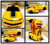 R/C деформации автомобиль с робота лампа для детей