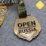 Gute Qualitätskundenspezifisches Decklack-Großhandelsmetalllaufende Sport-Preis-Medaillen-Fabrik