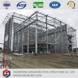 高層鉄骨構造の化学製品工場