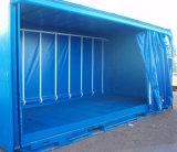 19oz PVC Rainproof lucido blu Tarps per il coperchio del contenitore di carico di trasporto