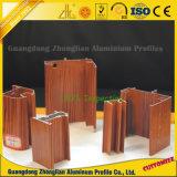 Windowsおよびドアの装飾のための木の穀物のアルミニウムプロフィール