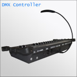 O operador de console DJ do mestre 384 de DMX encena o controlador claro